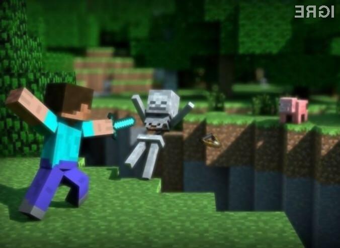 Microsoft je s prodajo računalniške igre Minecraft več kot zadovoljen!
