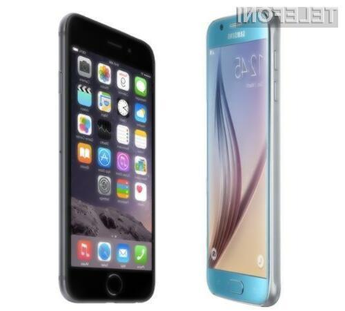 Apple in Samsung skupaj obvladujeta 35 odstotkov trga!