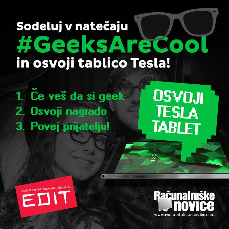 #GeeksAreCool: Če veš da si geek, tega ne skrivaj