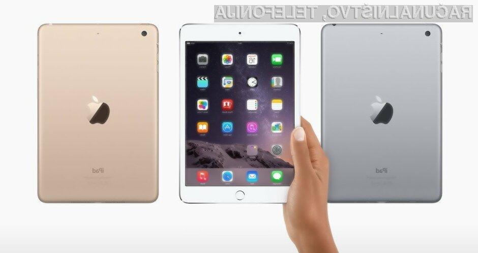 Miniaturna tablica iPad Mini 4 naj bi prinesla nekaj ključnih izboljšav!