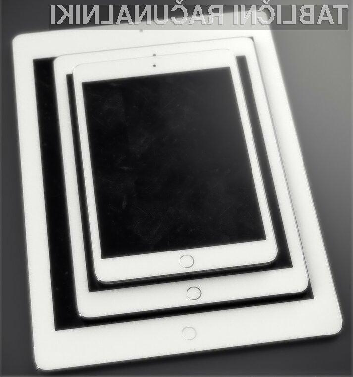 Večja tablica Apple iPad Pro naj bi bila naprodaj že oktobra letos!