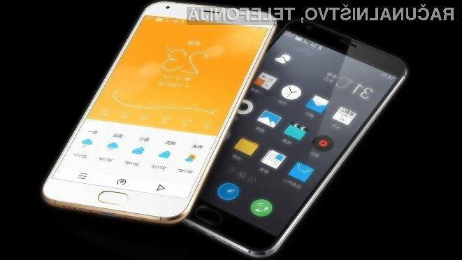 Pametni mobilni telefon Meizu MX5 nas bo zlahka prepričal!