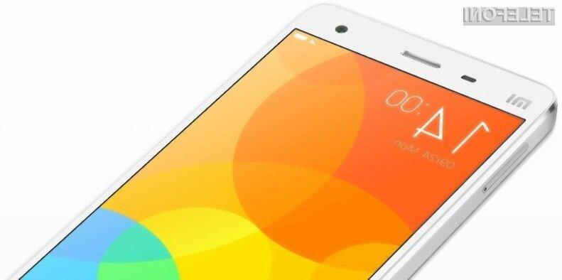 Supermobilnik Xiaomi Mi4 za le 262 evrov