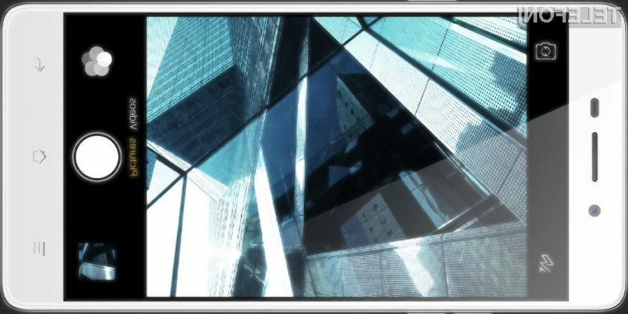 Pametni mobilni telefon Oppo Mirror 5s navdušuje v vseh pogledih!