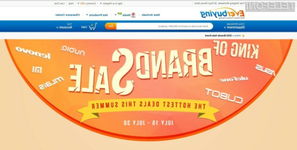 Izjemna akcija mobilnikov na spletni prodajalni Everbuying traja le do konca julija.