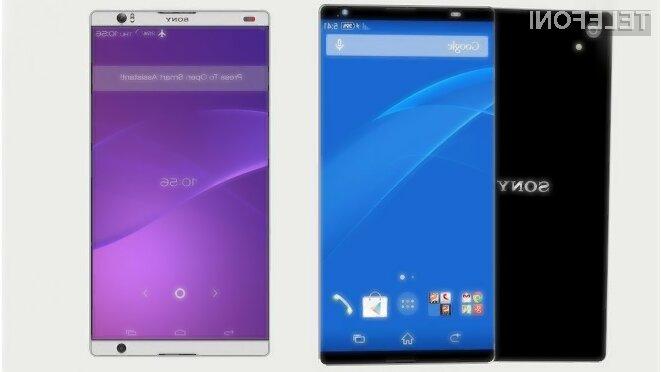 Glavni adut mobilnika Sony Xperia T4 Ultra bo zaslon brez stranskih robov.