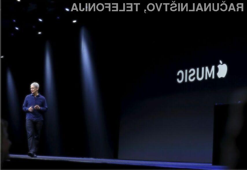 Uporabniki glasbene storitve Apple Music večinoma poslušajo le spletni radio.
