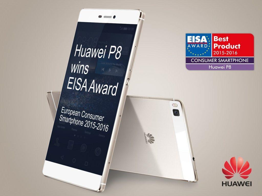 Prestižna nagrada za Huawei P8