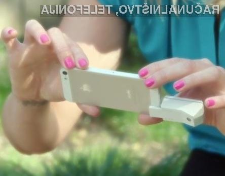 Poceni dodatek za tridimenzionalno skeniranje je združljiv s pametnimi mobilnimi telefoni Android in iOS.