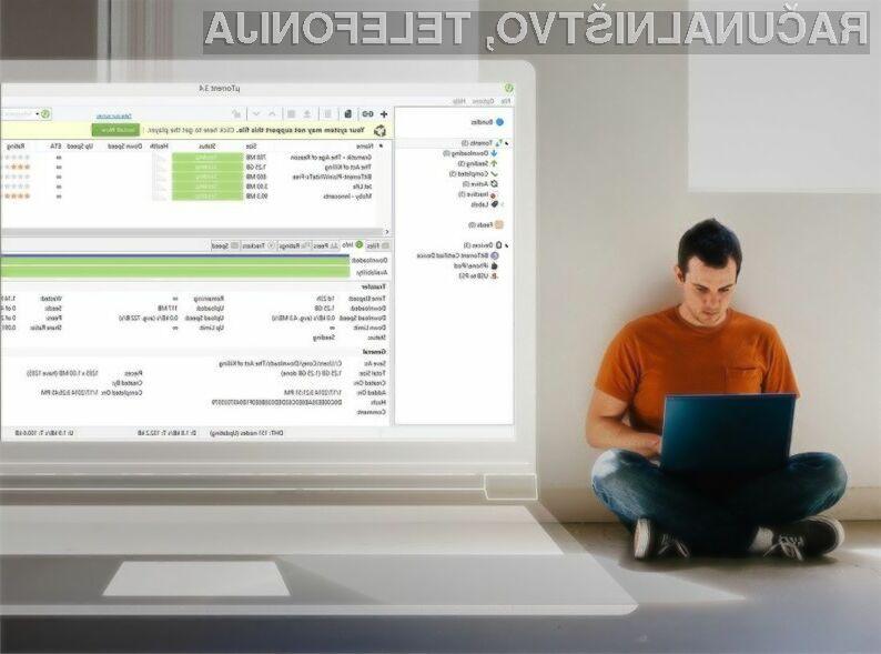 Uporaba programa uTorrent ne bo več brezplačna.