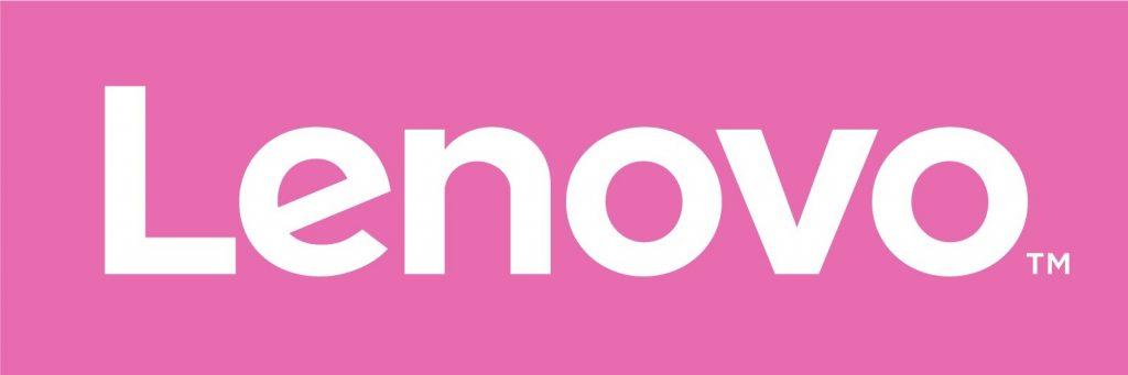Lenovo logo pink