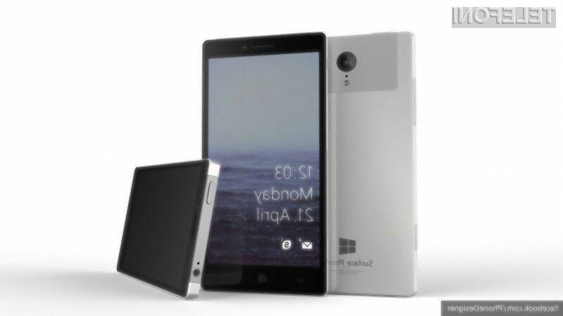 Mobilnik Microsoft Surface naj bi bil kot nalašč za zahtevne uporabnike!