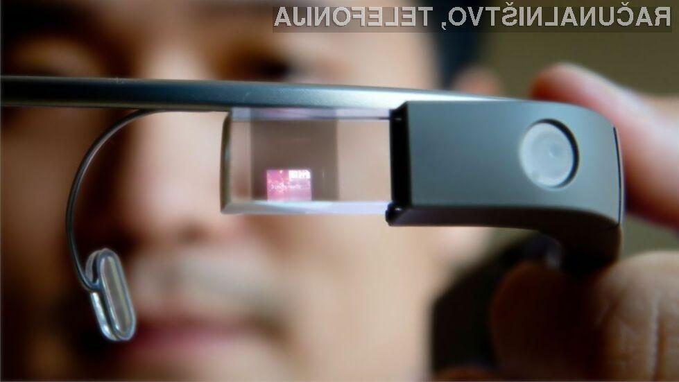 Nova očala Google Glass naj bi bila namenjena izključno poslovnemu svetu!