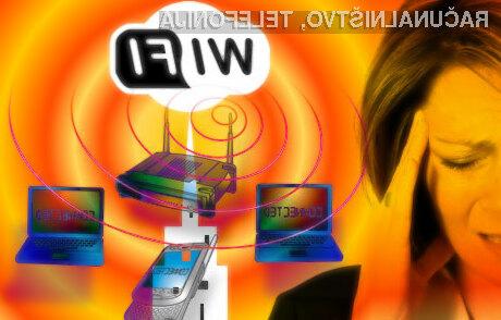 Brezžični signal WiFi naj bi otroku povzročal precejšnje zdravstvene težave.