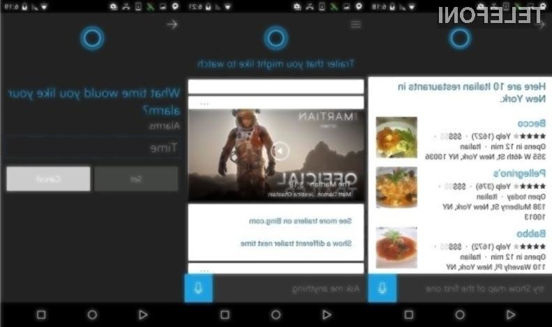 Končna Cortana za Android bo po uporabnosti povsem primerljiva s tisto za Windows Phone!
