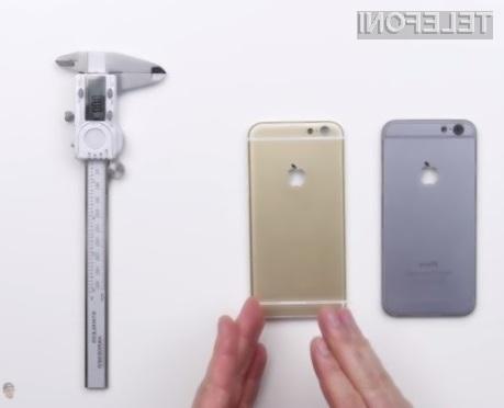 Novi iPhone 6S naj bi bilo precej težje upogniti v primerjavi z zdajšnjim modelom!