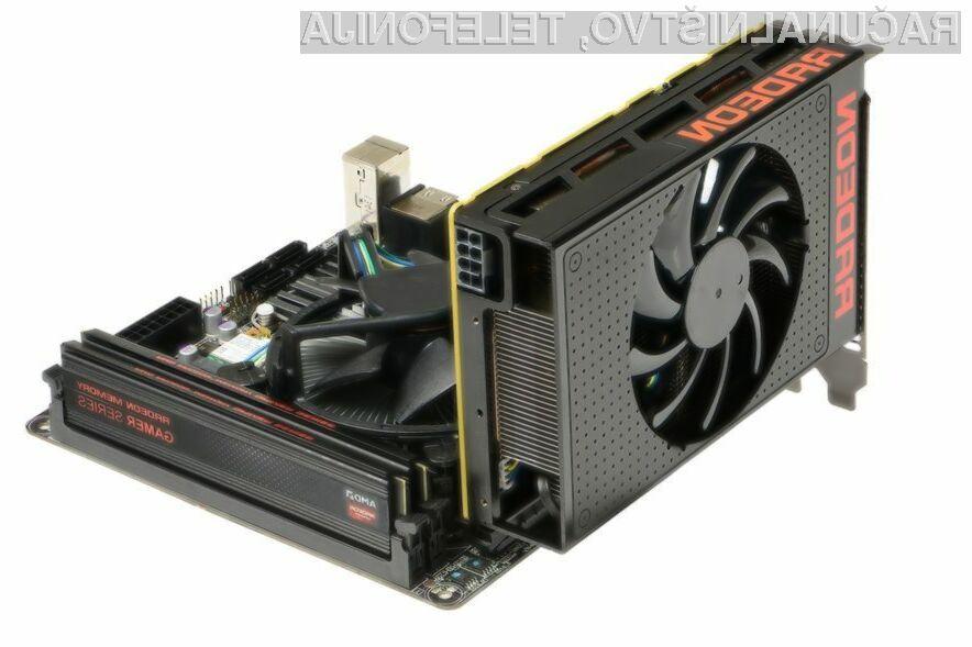 AMD R9 Nano: Najzmogljivejša grafična kartica z miniaturne računalnike!