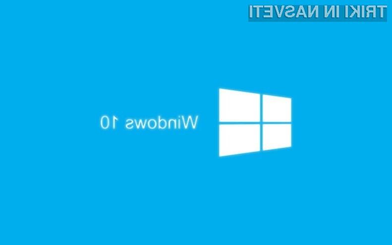 Vam Windows 10 ni všeč? Prejšnji Windows lahko obnovite v roku 30 dni!