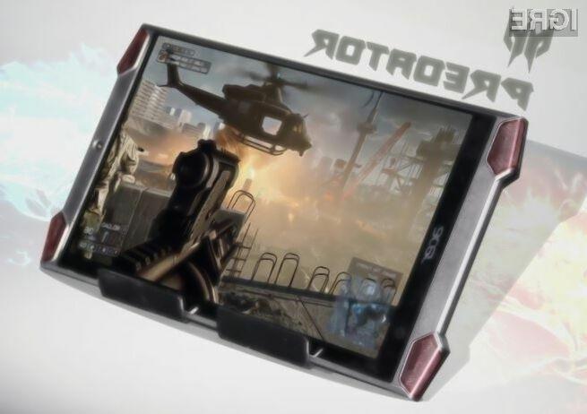Tablični računalnik Acer Predator 8 igričarje vsaj zlahka ne bo pustil na cedilu!