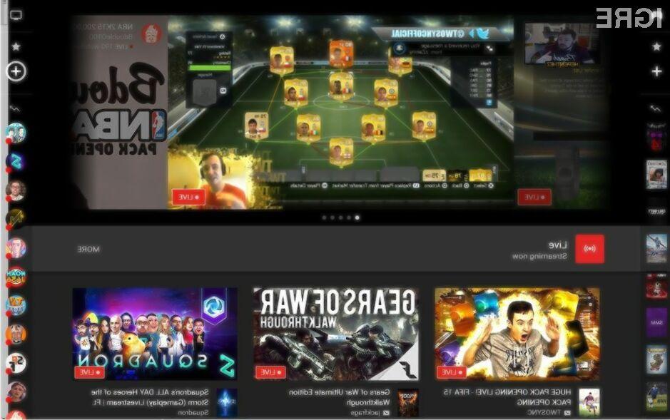 Spletni portal YouTube Gaming vas bo takoj prevzel!