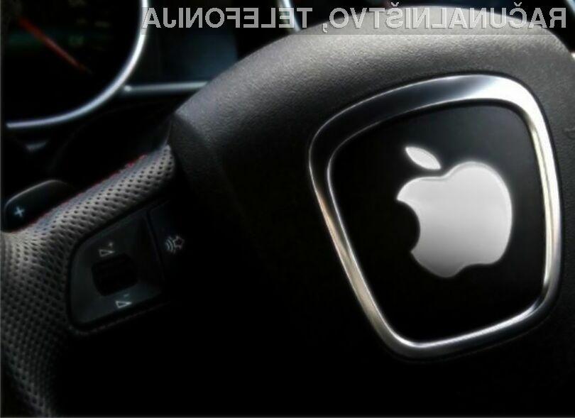 Samovozeči avtomobil Apple naj bi bil že nared za preizkušnjo.