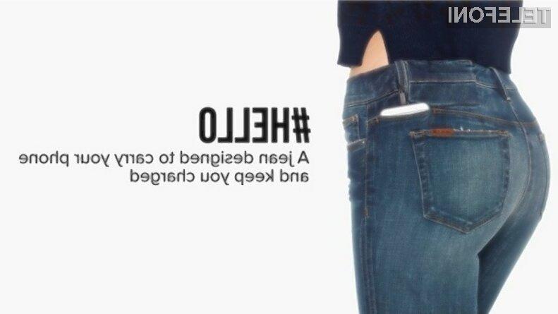 S kavbojkami Hellojean bomo s seboj vedno imeli dodatno baterijo za svoj mobilnik.