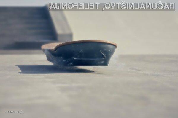 Plavajoča deska Lexus Hoverboard je že navdušila mnoge.