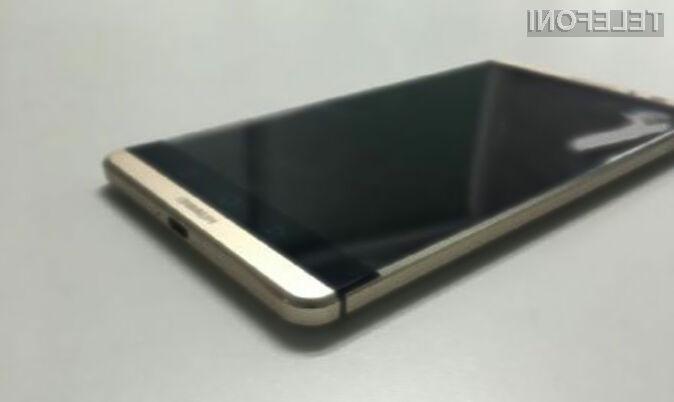 Tablifon Huawei Mate 8 se bo zlahka postavil po robu paradnim konjem vodilnih proizvajalcev!