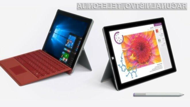 Microsoft Surface 3 se poslavlja