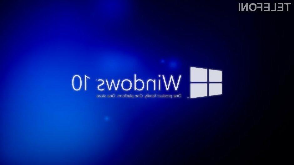 Pametni telefon z Windows 10 za dobrih 100 EUR