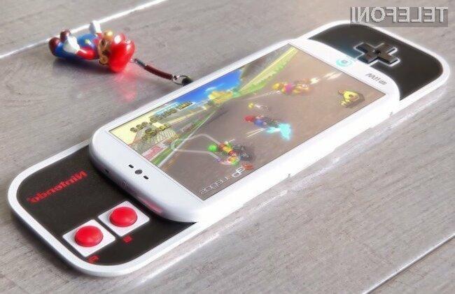 Igričarski pametni mobilni telefon Nintendo je videti naravnost fantastično.