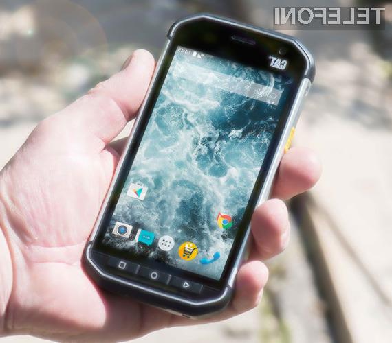 Pametni mobilni telefon Caterpillar S40 bomo le stežka uničili!