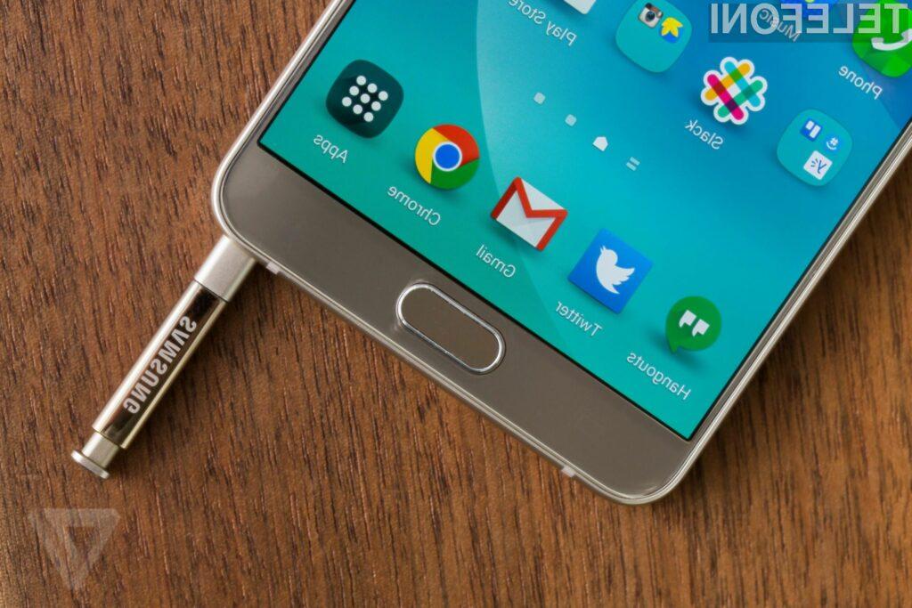 Velika napaka pri Galaxy Note 5