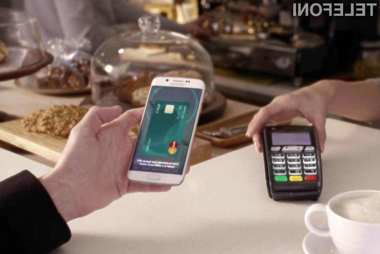 Samsung Pay kmalu v Evropi!