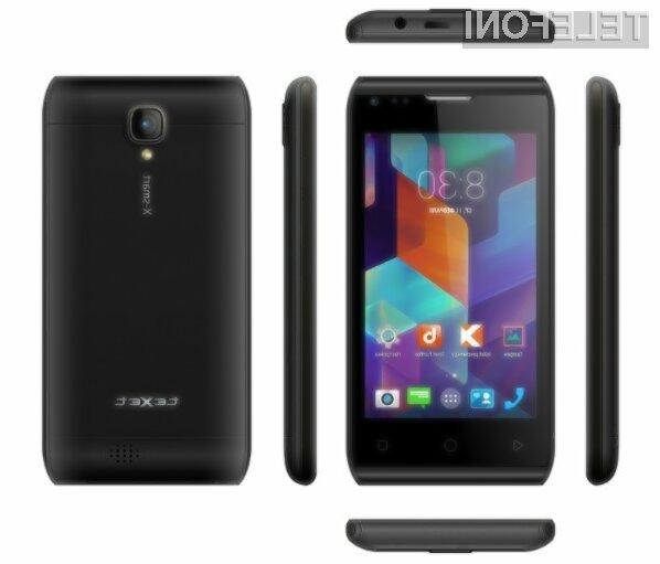Pametni mobilni telefon teXet X-Smart za zelo malo denarja ponuja relativno veliko!