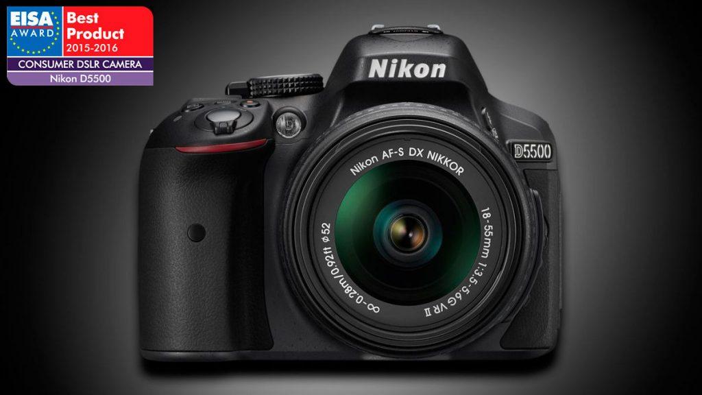 Nikon D5500 EISA
