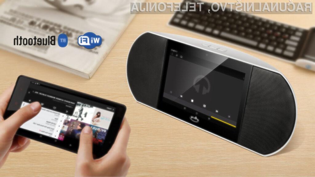 Na dotik občutljiv multimedijski zvočnik z Androidom