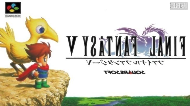 Legendarna računalniška igra Final Fantasy V vas bo takoj prevzela!