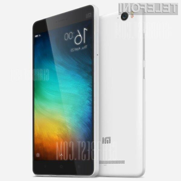 Pametni mobilni telefon Xiaomi Mi4C vas bo zlahka prepričal.