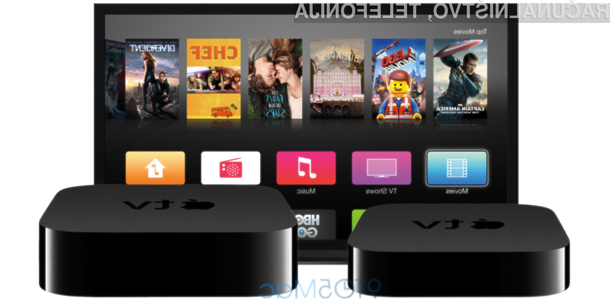 Četrti Apple TV še boljši in uporabnejši, a precej dražji!