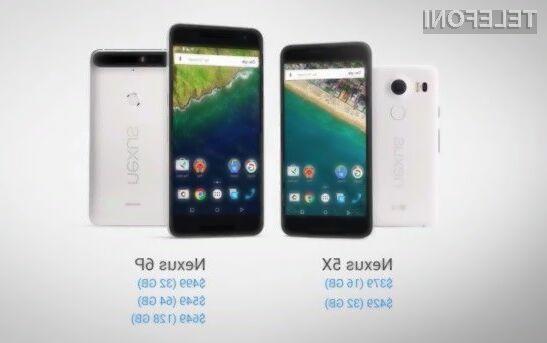 Google z mobilnikoma Nexus 5X in Nexus 6P nad Apple!