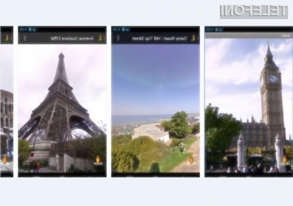 Googlov ulični pogled kot samostojna aplikacija!