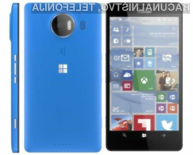 Mobilnika Microsoft Lumia 950 naj bi se zlahka zoperstavila pametnim mobilnikom Android!