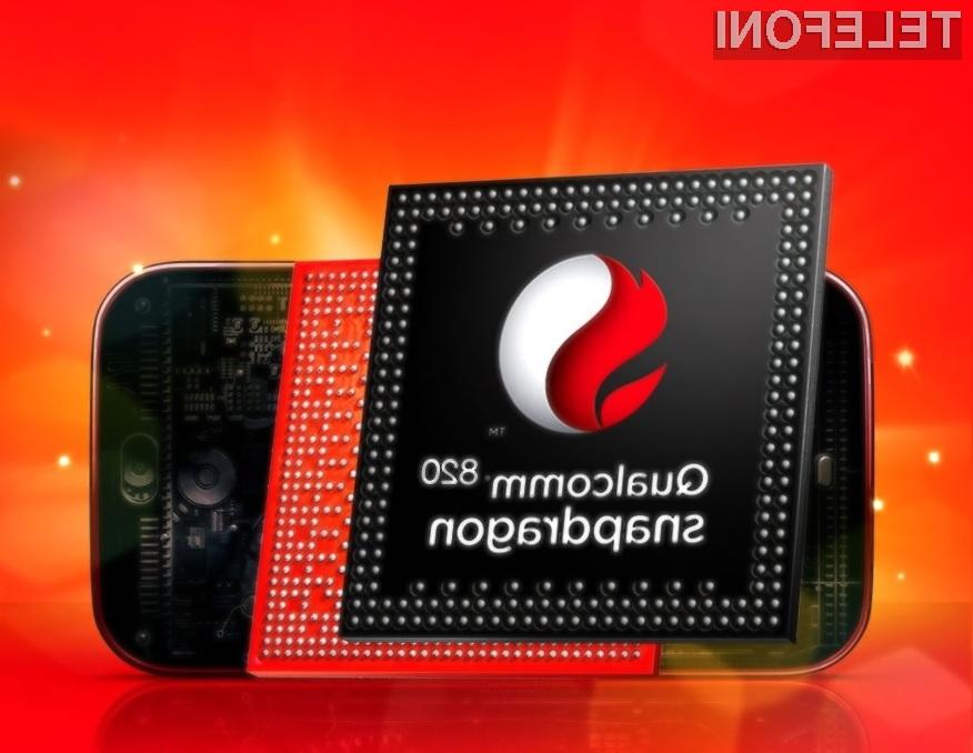 Procesor Snapdragon 820 naj bi prevzel vlogo protivirusnih rešitev.
