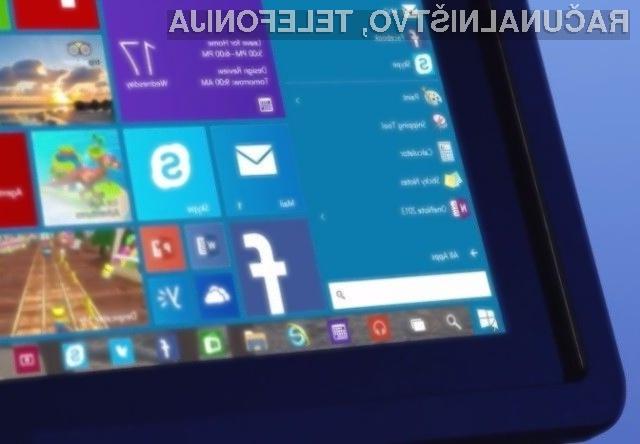 Na operacijski sistem Microsoft Windows 10 najbolj množično prisegamo Evropejci!