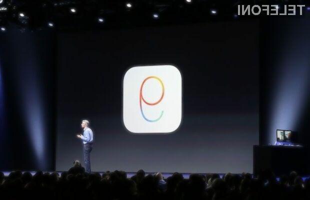 Novi iOS 9 obnorel uporabnike mobilnih naprav Apple