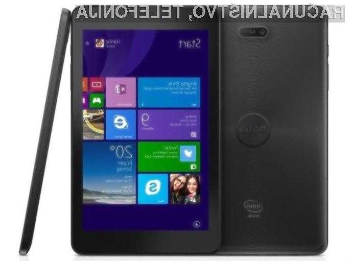 Tablica Dell Venue 8 Pro bo zlahka prepričala najzahtevnejše!