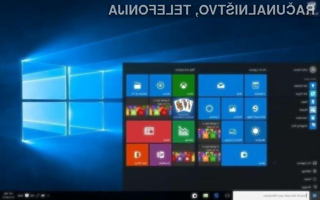 Priljubljenost operacijskemu sistemu Windows 10 ne pojenja!