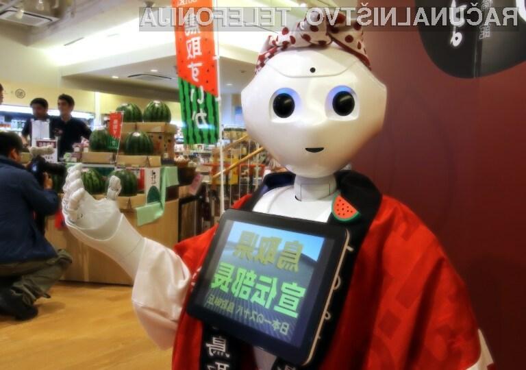 Robota Pepperja je prepovedano uporabljati za spolne aktivnosti.
