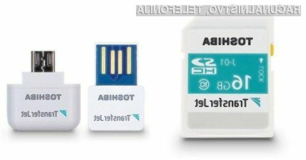 Toshiba TransferJet omogoča izjemno hiter brezžični prenos podatkov na kratke razdalje.